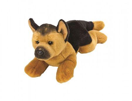 Suki Nemški ovčar plišasti pes, 35 cm