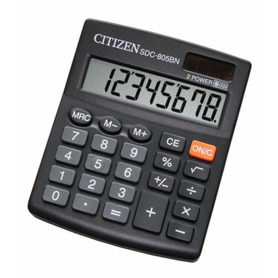 Citizen kalkulator SDC-805BN, črn