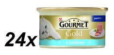 Gourmet Gold tonhalas macska konzerv - 24 x 85 g