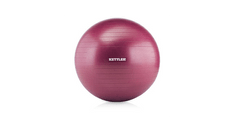 Kettler gimnastična in masažna žoga Ø 75 cm, bordo rdeča