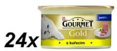 Gourmet Gold paštika s kuřetem 24 x 85 g