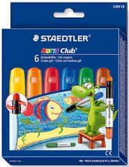 Staedtler voščenke gel Noris Club osnovne barve 6/1