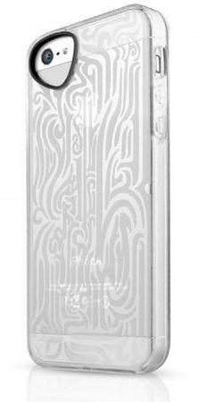 ITSKINS Tatoo TPU etui INK + zaščita zaslona za iPhone 5S/5, APH5-NEINK Bela
