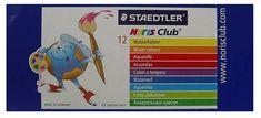 Staedtler vodene barvice Noris Club, 12 barv