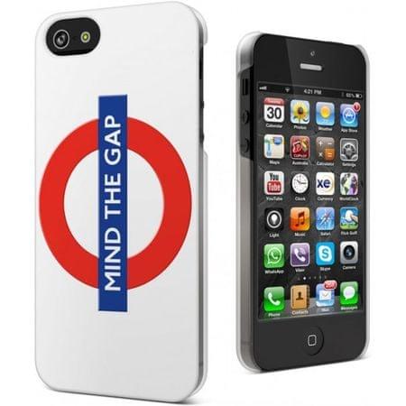 Cygnett Zaščitni etui TFL + zaščita zaslona za iPhone 5S/5, motiv podzemne železnice
