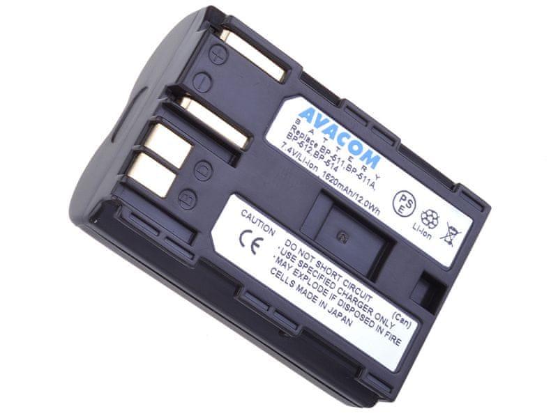 Avacom BP-511 pro Canon