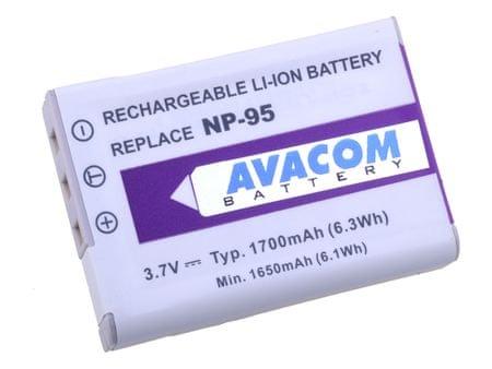 Avacom NP-95 pro Fujifilm Akkumulátor