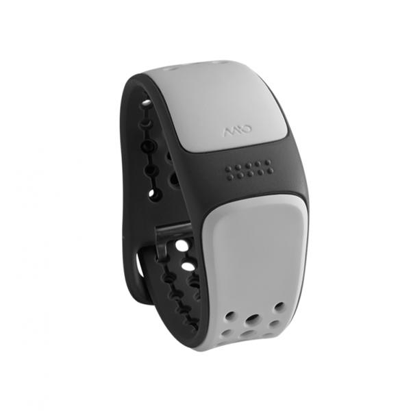 Mio Link zápěstní senzor srdečního tepu, krátký pásek, bílá