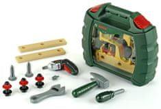 Klein Pracovný kufrík s náradím a aku-skrutkovačom