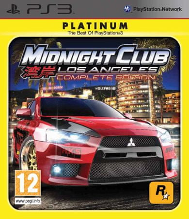 Take 2 Midnight Club: Los Angeles Complete Platinum Edition (PS3)