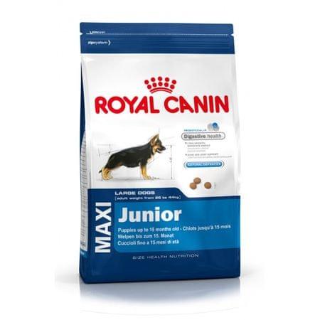 Royal Canin hrana za mlade pse Maxi, 15 kg - Poškodovana embalaža