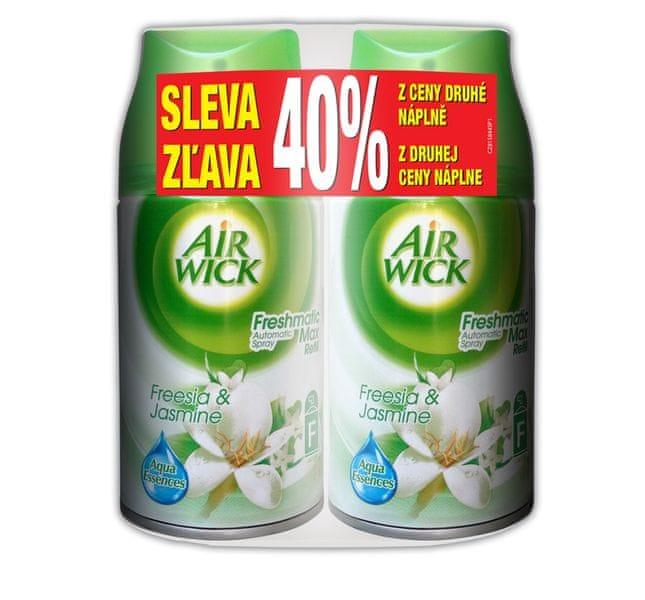Air wick Freshmatic Max Náhradní náplň Bílé květy 2 x 250 ml