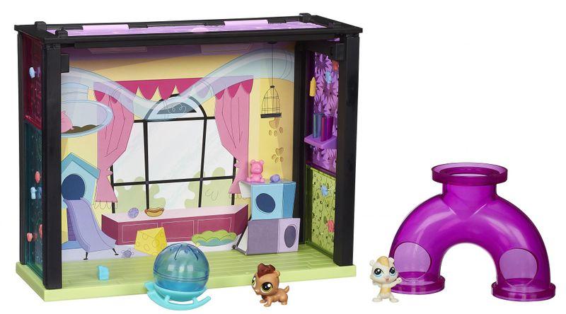 Littlest Pet Shop Zvířátko s domečkem Fun park