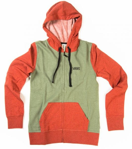 Vans G link Zip-Up Hoodie Hthr Sea Spray S