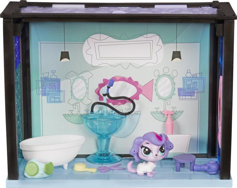 Littlest Pet Shop Zvířátko s domečkem Spa