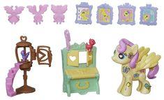 My Little Pony Pop poník so zariadením do domčeka Fluttershy