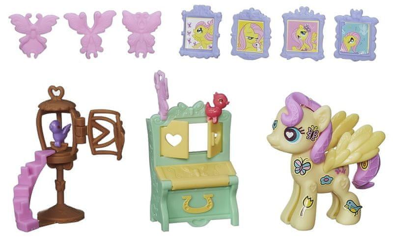 My Little Pony Pop poník se zařízením do domečku Fluttershy
