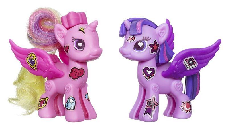 My Little Pony Pop deluxe 2 poníci s doplňky Twilight Sparkle a Cadance