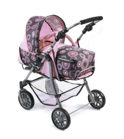 Bayer Chic EXCHANGE Játék babakocsi, Világos pink