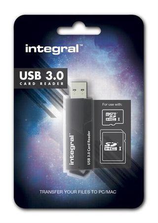 Integral USB 3.0 čitalec kartic