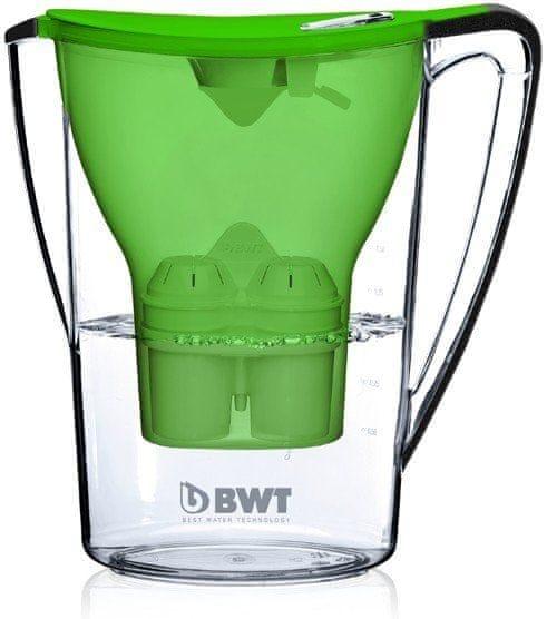 BWT Filtrační konvice Penguin zelená