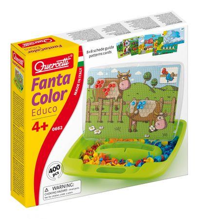 Quercetti Fantacolor Educo Mozaika 400 elem.
