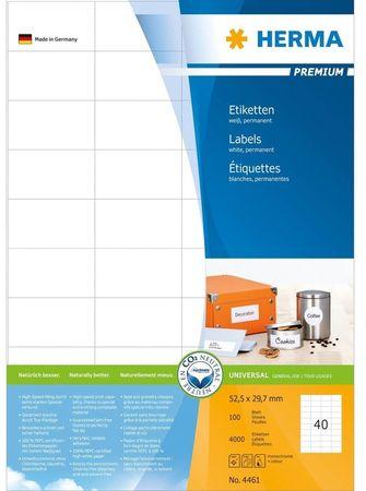 Herma Etikete Premium 4461, 52,5 x 29,7 mm, 100 kom