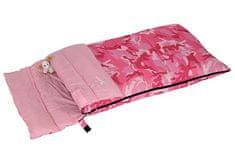 Bertoni spalna vreča Junior Camo, otroška, roza