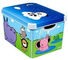 CURVER Happy animals Tároló doboz, L