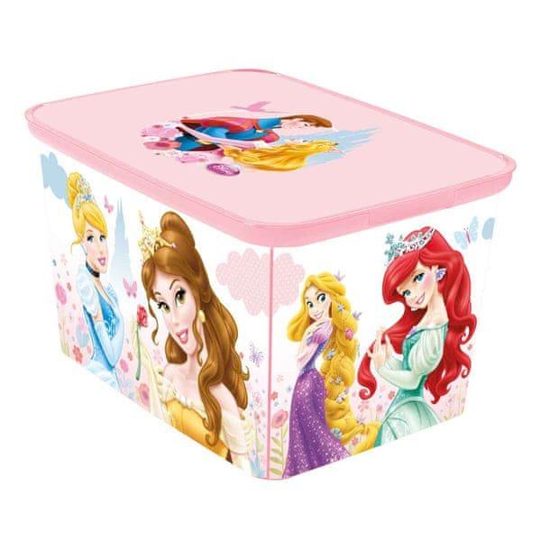 Curver Úložný box AMSTERDAM L Princess
