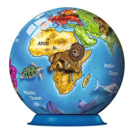 Ravensburger Puzzleball Globus, 72 elementy