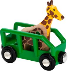 Brio Żyrafa w wagonie 33724