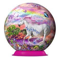 Ravensburger Egyszarvús puzzleball, 72 db