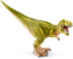 Schleich dinozaver tiranozaver rex s premično čelhustjo, svetlo zelen