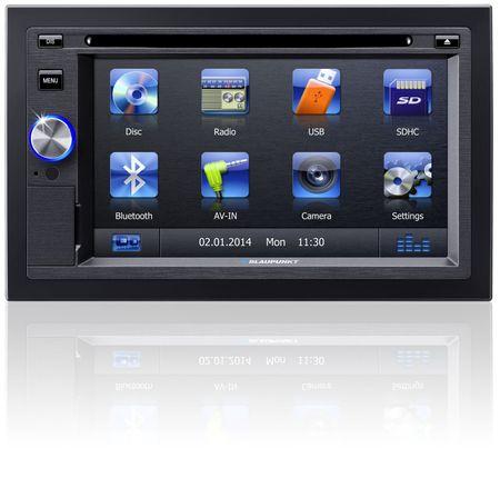 Blaupunkt avtoradio z LCD zaslonom San Diego 530