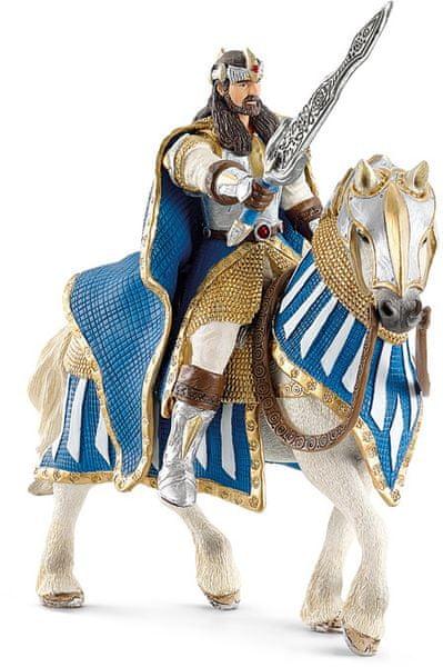 Schleich Rytíř - Král na koni s pohyblivými pažemi 70119