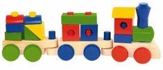 Woody Skladací nákladný vlak - dva vagóny
