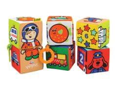 K´s Kids Zábavné textilní kostky