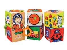K´s Kids Tekstylne kostki, 6 sztuk