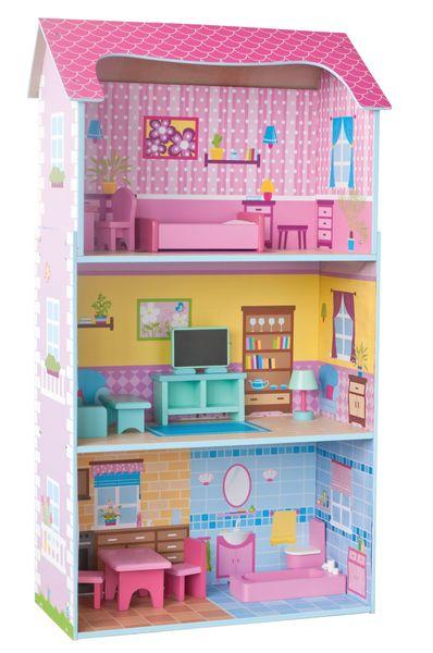 Woody Třípatrový barevný domeček - II. jakost