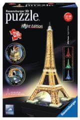 Ravensburger Puzzle 3D Wieża Eiffla nocą
