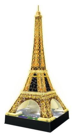 Ravensburger Eiffelova věž - Noční edice 3D 216d
