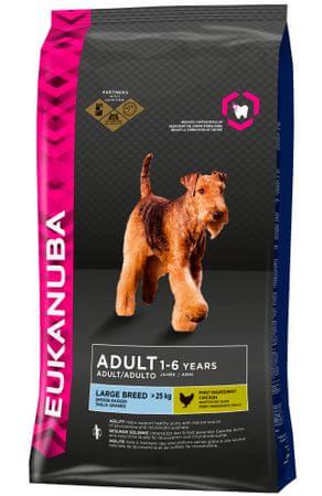 Eukanuba hrana za odrasle pse velikih pasem, 15 kg-Poškodovanaembalaža