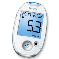 BEURER GL 44 mmol/ L Vércukorszintmérő, Fehér