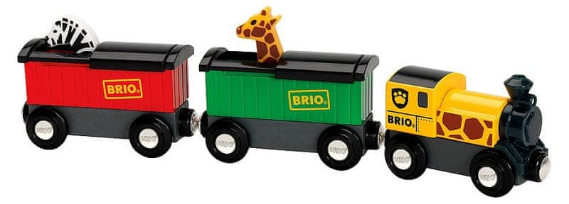 Brio WORLD VLAKY 33722 Safari vlak