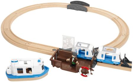 Brio železniški komplet s trajektom