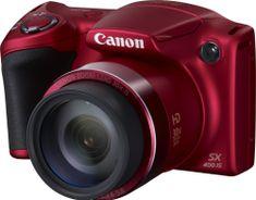 Canon PowerShot SX400 červená - II. jakost