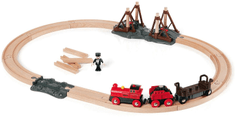 Brio Vláčikodráha s parnou lokomotívou