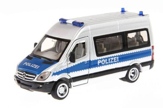 SIKU policijski minibus Mercedes, 1:50