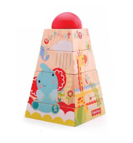 Fisher-Price Dřevěná pyramida